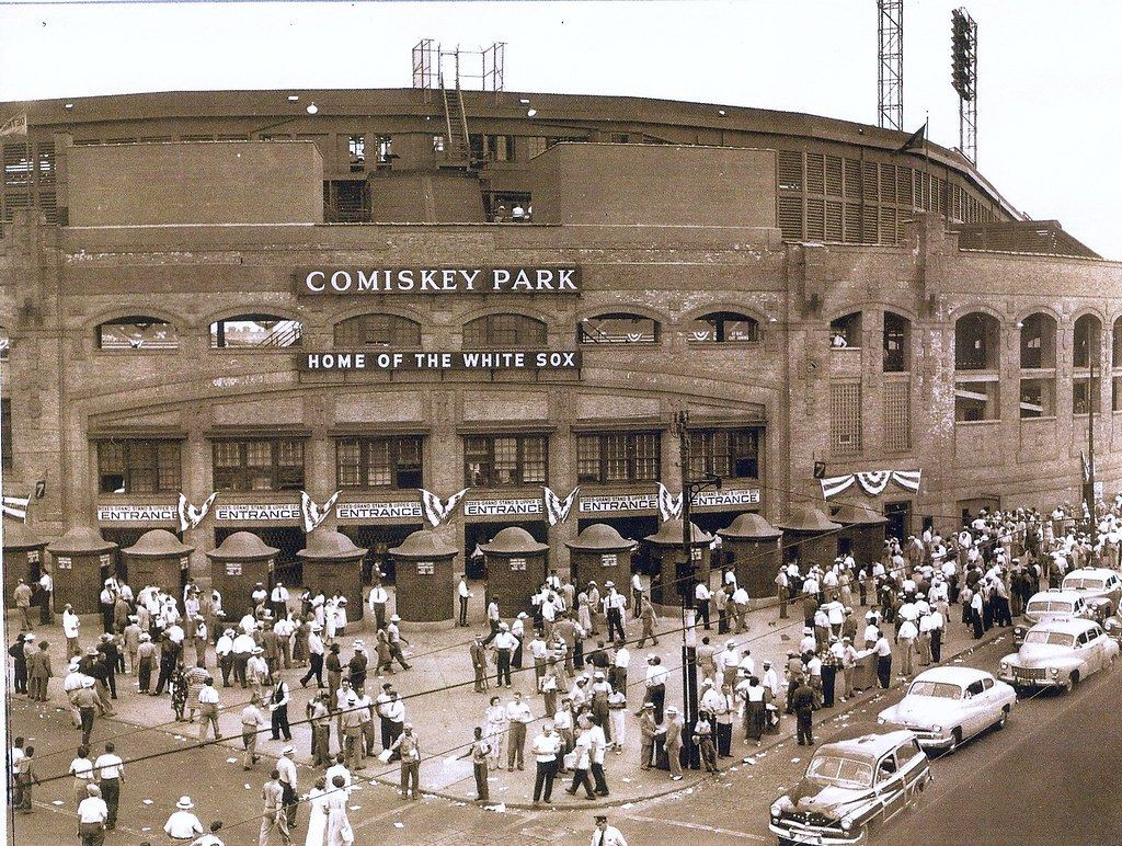 Superb Old Comiskey Park The Home Of The Chicago White Sox Onthecornerstone Fun Painted Chair Ideas Images Onthecornerstoneorg